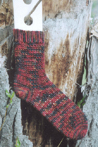 Colorful Crochet Socks Crochet Pattern | Red Heart